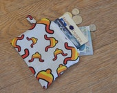 Small Jayne hat Firefly print zipper coin purse pouch