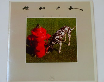 "ON SALE Rush - Signals - Prog Rock - ""Subdivisions"" - ""The Weapon"" - Canadian Rock - Mercury Records 1982 - Vintage Vinyl LP Record Album"