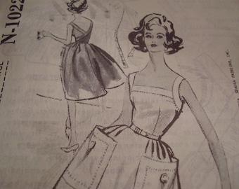 Vintage 1960's Spadea N-1022 Harvey Berin Dress Sewing Pattern, Size 14, Bust 36 1/2