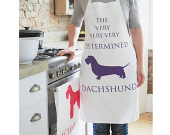 Dachshund Apron - Wirehair dachshund - Dachshund Gift - Dachshund Design - Sausage Dog - Doxie Pinny - Baking Gifts - Kitchen Pinny