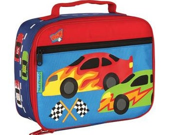 Personalized Stephen Joseph Race Car Lunch Box