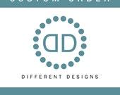 Custom Order - Kelly & Susan
