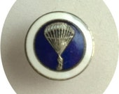 Vintage Parachute/Paratrooper small Pin / Tie tack - circa 1960's - New in pkg