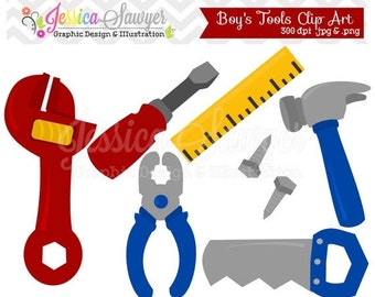 80% OFF - INSTANT DOWNLOAD, building tool clipart, fathers day clip art, for commercial use, personal use