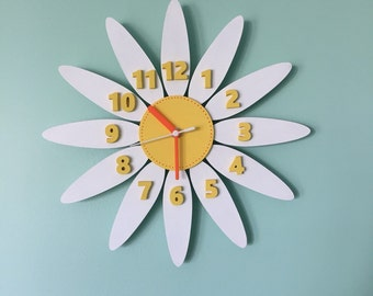 Flower clock - Daisy