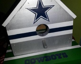 Dallas Cowboys Birdhouse