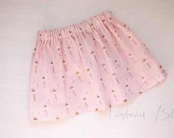 READY TO SHIP ~ Custom Boutique Girls Skirt, Toddler Girls~ Size: 2/3