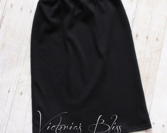 Ladies MODEST Pencil Skirt Knit Collection ~ Modest Skirt, Women's Skirt, Women's Skirts, Modest Clothing ~ Made to order