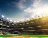 6'x7' Custom Stadium Backdrop