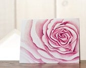Rose notecards, Floral stationery, watercolor rose, personal stationery set, art reprint, gardening notecards, watercolor stationery
