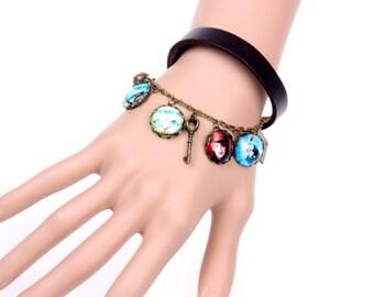 bracelet Alice in Wonderland