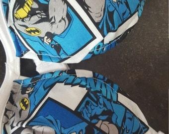 Ready to ship batman inspired 34a bra