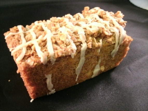Buy One Loaf of our Homemade Apple Streusel bread get a second loaf of bread your choice free. Great gift for Mom,Holidays, Dad, or Friends