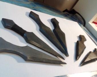 Plain Blade Throwing Dagger - LARP Safe / Prop