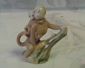 Wade First Whimsies Series 4 Monkey & Baby 1955