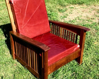 Morris Craftsman Style Chair