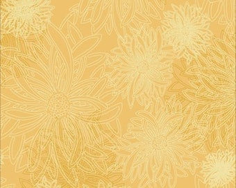 Floral Elements by Art Galleryn Fabrics, Sunflower, FE506