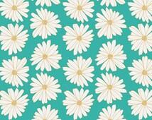 Art Gallery Fabrics Anna Elise Daises Cloud Water by Bari J Medium-weight Cotton