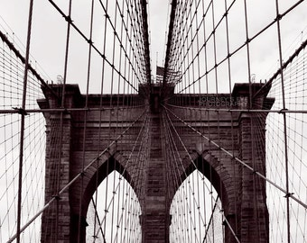 Brooklyn Bridge   New York Photography, NYC Artwork, Fine Art Photography,  Black And Part 96