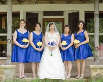 Custom Made Bride's Maid Dresses