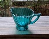 jeanette ultramarine swirl cream pitcher
