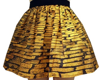 Yellow Brick Rd Full Skirt