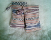 Native Padded Pouch/ Pipe Bag / Handmade / Drawstring Pouch