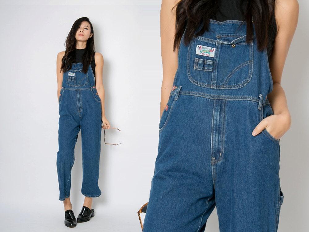 vintage denim overalls vintage blue