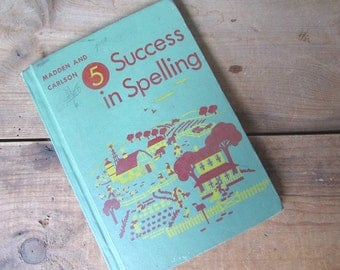 Success in SPelling Vintage Textbook Maddon and Carlson