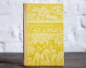 """Hardcover Notebook Tartuensis Classic """"Summer Landscape"""" from upcycled book covers"""