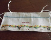Apron for crafts, sewing, gardening....very useful and handy.