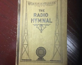 The Radio Hymnal from 1927