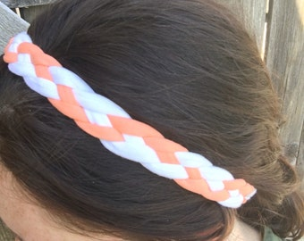 Four braid headband