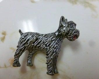 Vintage Gerrys Scottie Dog Pin