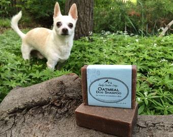 Gentle Oatmeal Dog Shampoo - Unscented