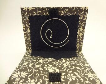 Simple hoop earrings, sterling silver, dainty, delicate