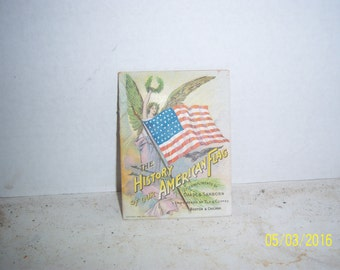 1900's Chase & Sanborn Coffee History of American Flag JA Nickerson Chatham Mass