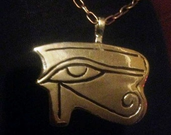 Silver Eye of Horus pendant
