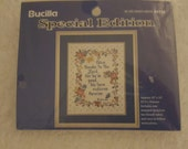 Bucilla Special Edition Stamped Cross-Stitch Wall Hanging