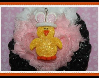 Polymer clay Easter chick