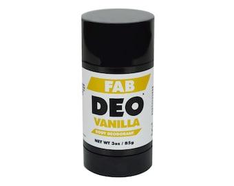 VANILLA Natural Deodorant Deoderant Stick Vegan