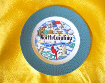 "10 1/4"" North Carolina Collectible Plate"