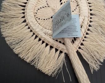 Vintage Mali Handmade Fan