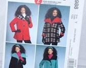 McCall's Women's Coat Pattern M5988 -Size Xsm thru med