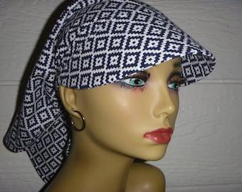 Sun Hat,Chemo Hat,Chemo Cancer Headwear,WomenSun Hat,SunVisor,Chemo Cap,Alopecia,Scarf Hat,Scarf Visor, Visor,Do Rag Visor,Womens Bandana