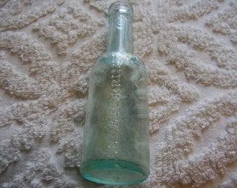 Vintage Lea & Perrins Collectible Bottle/Aqua