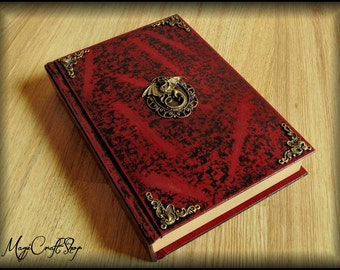 Journal Diary Book of shadows ANCIENT DRAGON - medium size available with 500 pages