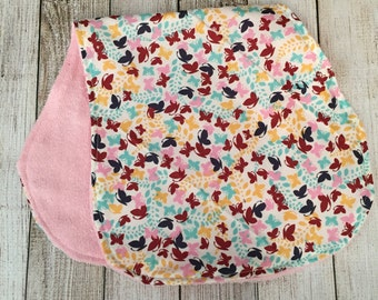 Butterfly Burp Cloth
