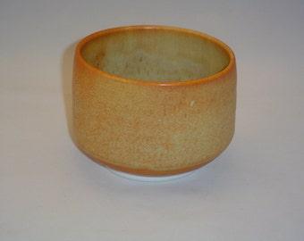 Porcelain cereal bowls with Oregon Gold glaze