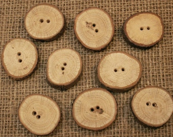 Wooden Buttons (oak)